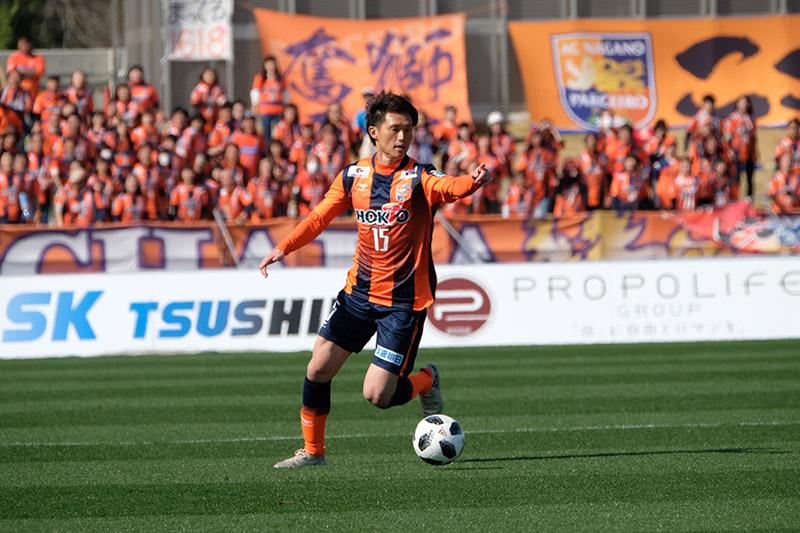 西口 諒|トップチーム|AC長野パルセイロ